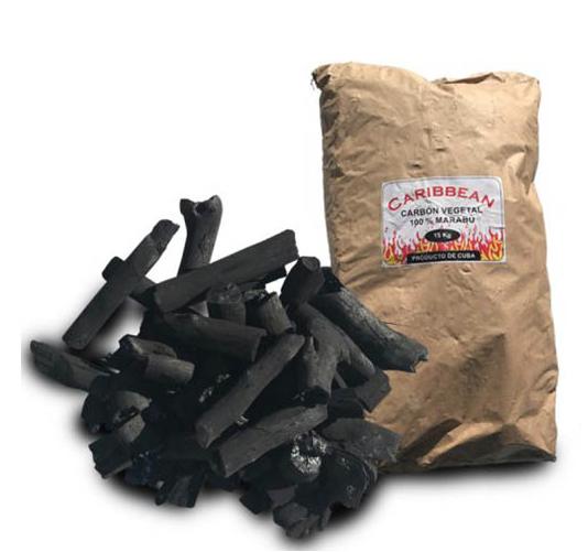Houtskool Marabu de Cuba 15kg