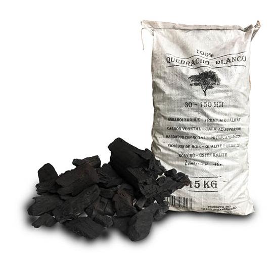 Houtskool White QueBracho 15kg