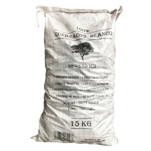 Houtskool White QueBracho 15kg b